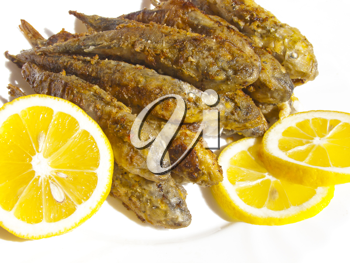 Royalty Free Photo of Cooked Fish