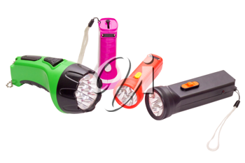 Royalty Free Photo of Flashlights