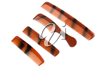 Royalty Free Photo of a Set of Combs