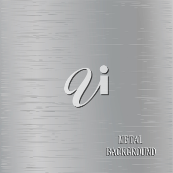 Royalty Free Clipart Image of a Metal Background