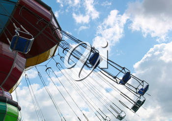 Swing attraction over the sky