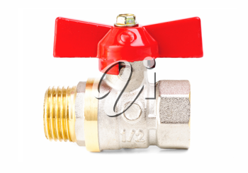 Royalty Free Photo of a Plumbing Valve