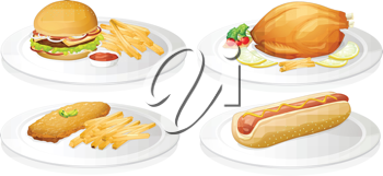 illustration of a food on a white background