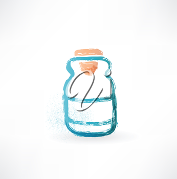 jar with medications icon