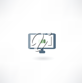Computer boot icon