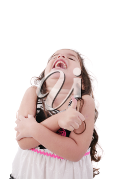 Royalty Free Photo of a Laughing Girl