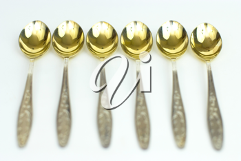 Royalty Free Photo of Antique Spoons