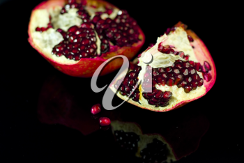 Royalty Free Photo of a Pomegranate