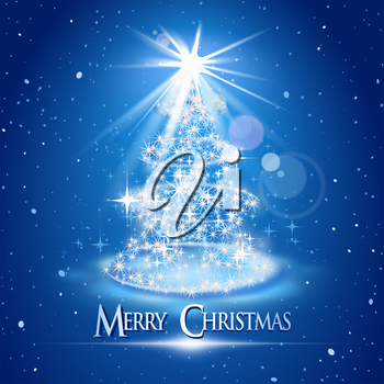 Royalty Free Clipart Image of Christmas Background