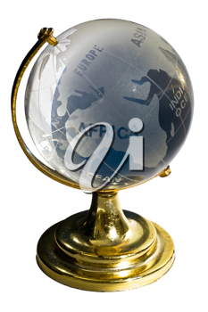Royalty Free Photo of a Glass Globe