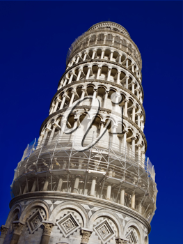 Royalty Free Photo of the Leaning Tower of Pisa