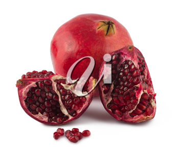 Royalty Free Photo of a Opened Pomegranate