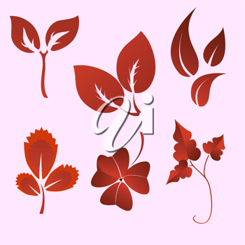 Royalty Free Clipart Image of Plants