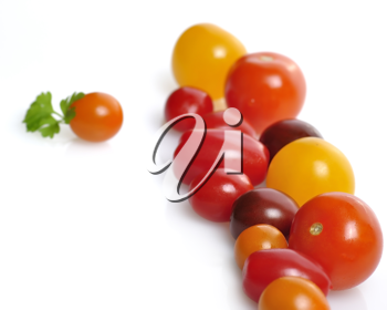 Royalty Free Photo of Cherry Tomatoes