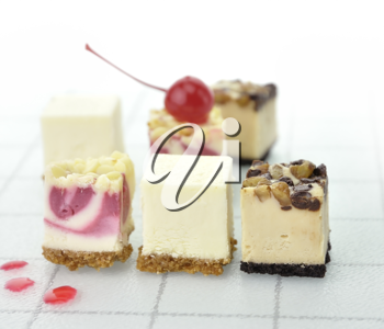 Royalty Free Photo of Cheesecake Slices