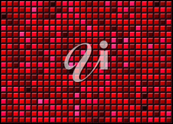 Royalty Free Clipart Image of Mosaic Tiles