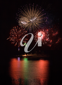 Royalty Free Photo of a Firework Display