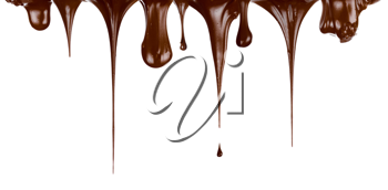 Royalty Free Photo of Chocolate Dripping
