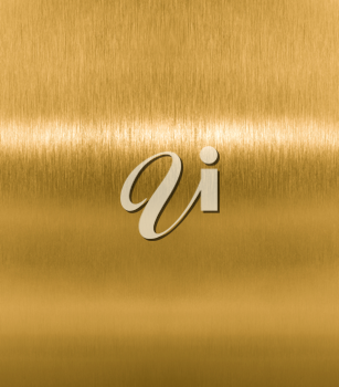 Royalty Free Photo of a Golden Texture