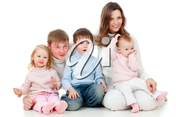 Royalty Free Photo of a Family Portrait