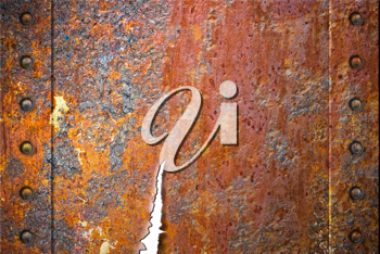 Royalty Free Photo of a Rusty Metal Texture