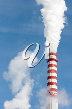 Royalty Free Photo of a Gas Power Plant