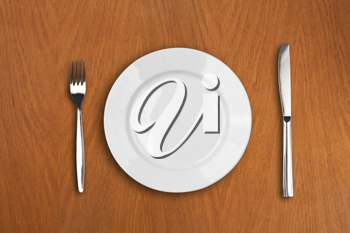 Royalty Free Photo of a Place Setting
