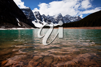 Royalty Free Photo of a Lake in Canada