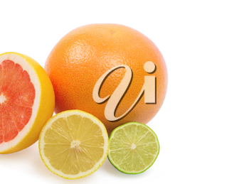 Royalty Free Photo of Citrus Fruits