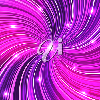 Purple abstract background with glow