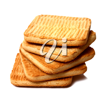 biscuit isolated on white background