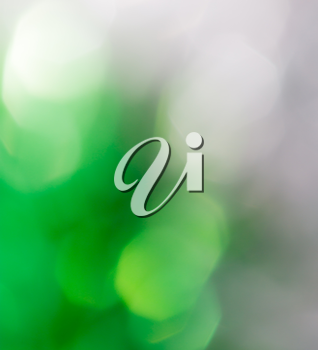 background of green holiday bokeh
