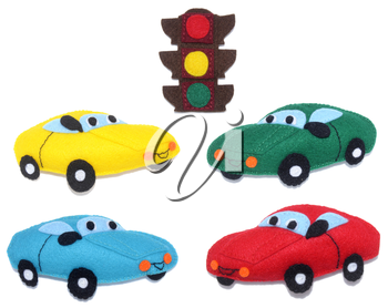Cars and Traffic light - kids toys