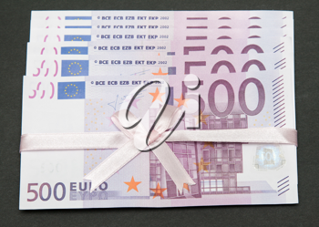 Royalty Free Photo of a Bunch of Euros
