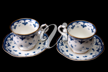 Royalty Free Photo of Teacups