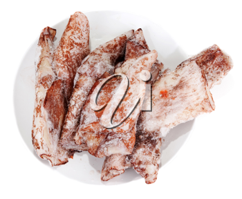 Royalty Free Photo of Frozen Squid
