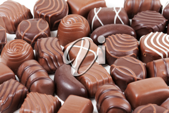 Royalty Free Photo of a Bunch of Chocolates