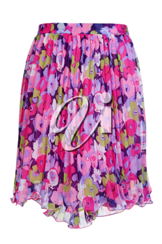 Royalty Free Photo of a Floral Skirt