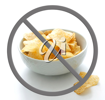 Royalty Free Photo of a Bowl of Chips