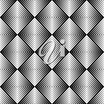 Royalty Free Clipart Image of an Optical Blur Pattern