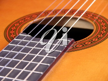 Royalty Free Photo of a Guitar
