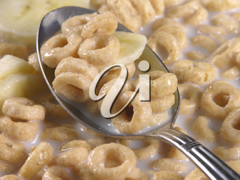 Royalty Free Photo of a Bowl of Cereal