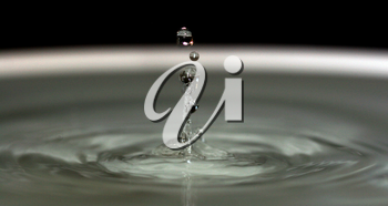 Royalty Free Photo of a Water Drop
