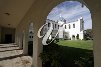 Royalty Free Photo of the University of San Diego