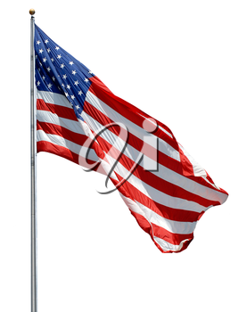 Royalty Free Photo of an American Flag