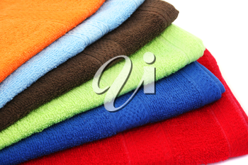 Royalty Free Photo of Colourful Towels
