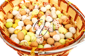 Royalty Free Photo of Colourful Easter Eggs