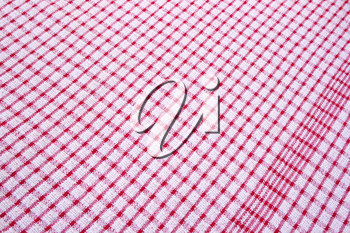 Royalty Free Photo of a Tablecloth