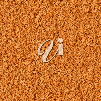 Orange Carpet. Seamless Tileable Texture.