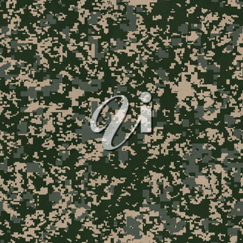 Military Grunge Background. Seamless Tileable Texture.